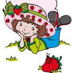 aardbeien kleurplaat 2