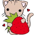 aardbeien kleurplaat 5