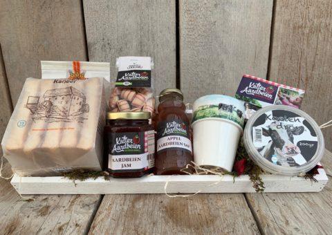 Boerenplank vol ambachtelijke producten
