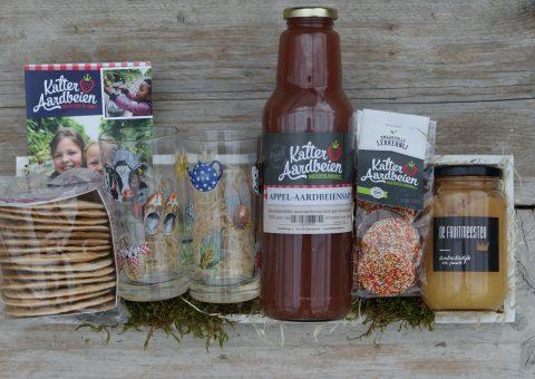 Landleven een plank vol ambachtelijke producten