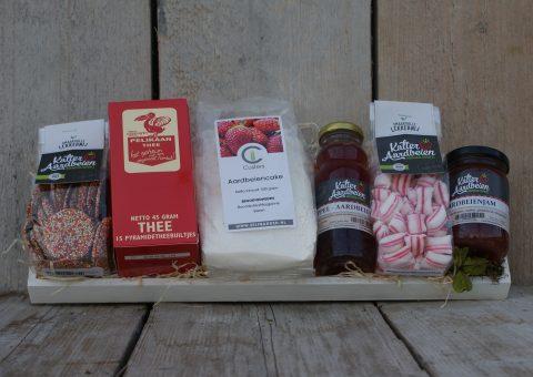 Aardbeien pakket