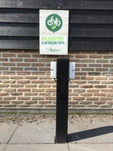 elektrische fiets oplaadpunt
